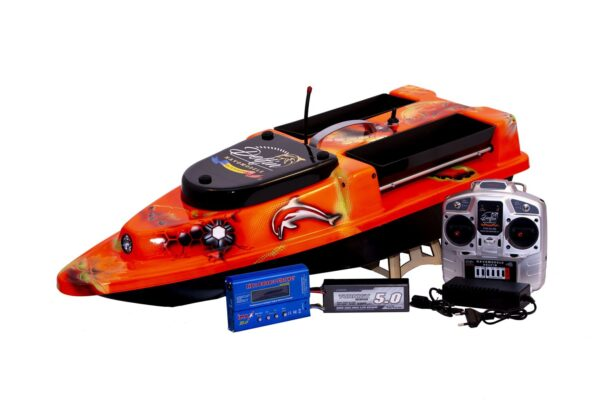 Navomodel Delfin XXL Speed Aerografiat Orange